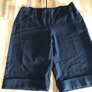 White House Black Market Bermuda Dress Shorts